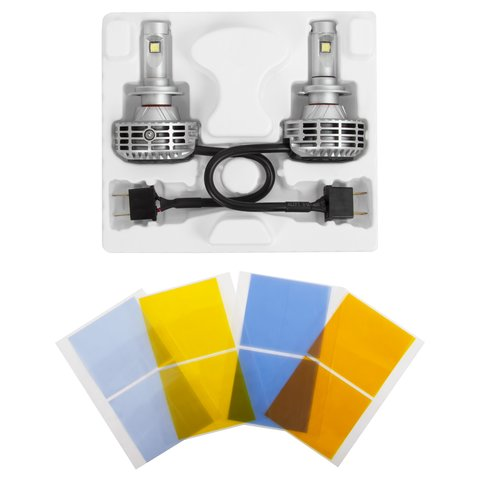 Car LED Headlamp Kit UP-6HL (H7, 3000 lm) Preview 1