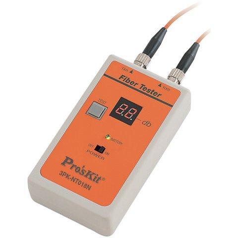 Тестер оптоволоконного кабелю Pro'sKit 3PK-NT018N-ST з ST конектором - Перегляд 2