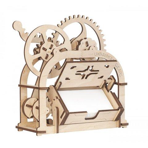 Механічний 3D-пазл UGEARS Шкатулка-візитниця Прев'ю 2