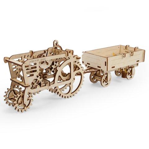 Механический 3D-пазл UGEARS Прицеп