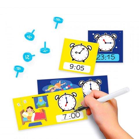 Навчальний ігровий набір Quercetti серії Play Montessori Перший годинник Прев'ю 2
