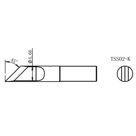 Soldering Iron Tip Quick TSS02-K Preview 1